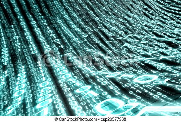code, hintergrund, binärer - csp20577388