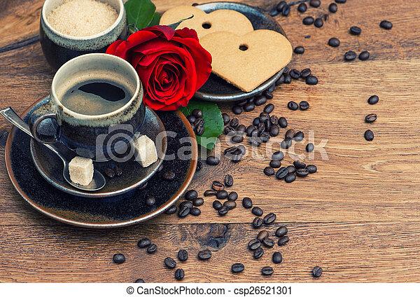 coeur-caf%C3%A9-fleur-tasse-rose-noir-banque-de-photographie_csp26521301.jpg