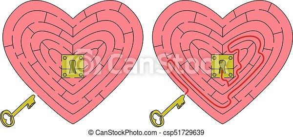 Coeur Facile Labyrinthe