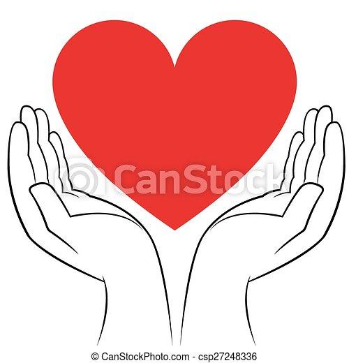 Coeur Mains Humaines