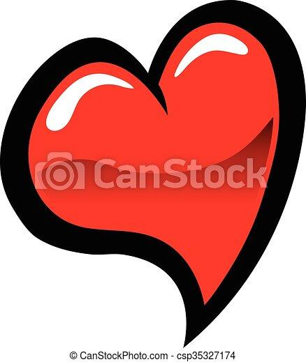 Coeur symbole vecteur amour ic ne illustration - Clipart amour ...