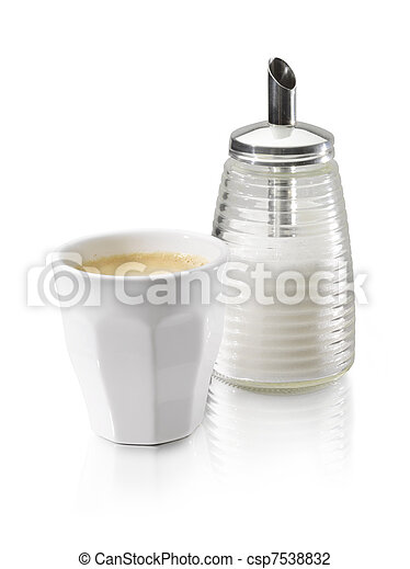 coffe cup sugar - csp7538832