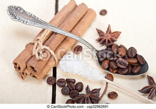 coffe sugar and spice - csp32962691