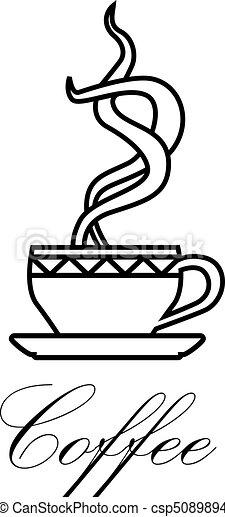 coffe symbol - csp5089894