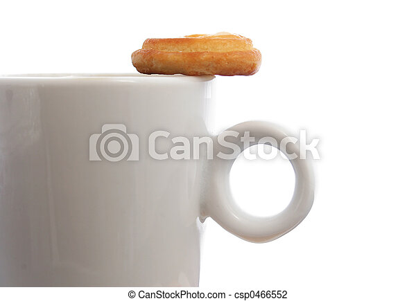 Coffee and Biscuit - csp0466552