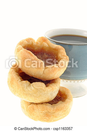 Coffee and Butter Tarts - csp1163357