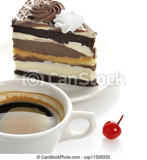 Coffee And Cake - csp11509335