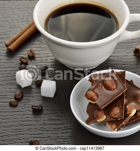 Coffee And Chocolate - csp11413987