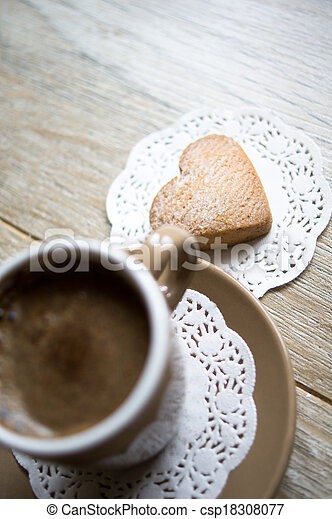 Coffee and sweets - csp18308077