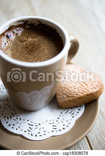 Coffee and sweets - csp18308078