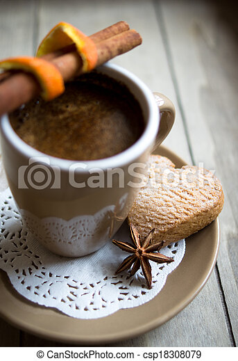 Coffee and sweets - csp18308079