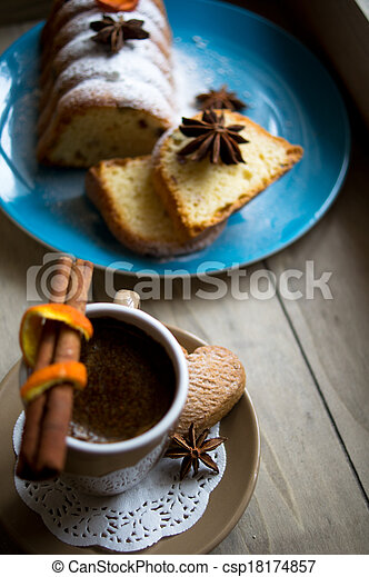 Coffee and sweets - csp18174857