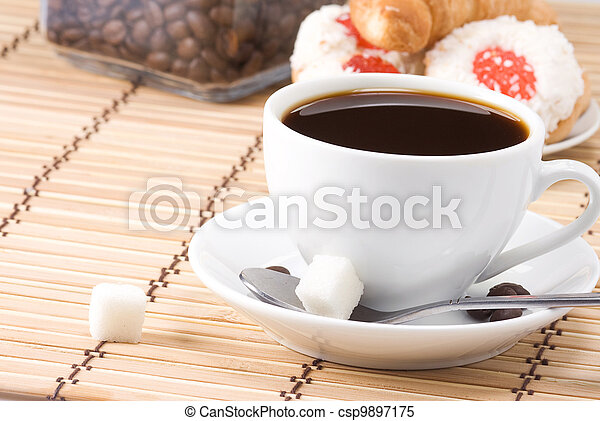 coffee and sweets - csp9897175