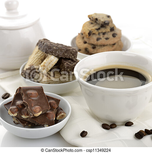 Coffee And Sweets - csp11349224
