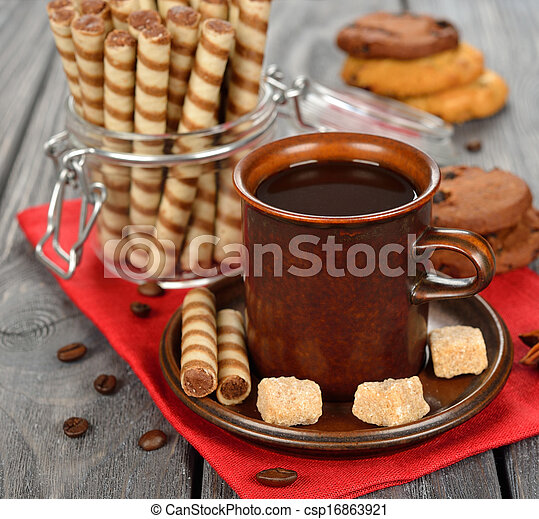Coffee and sweets - csp16863921