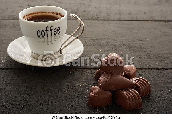 Coffee and sweets - csp40312945