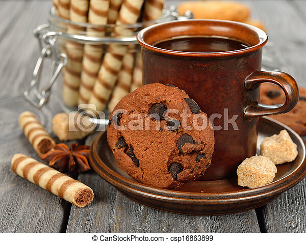 Coffee and sweets - csp16863899