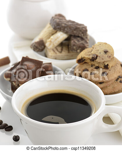 Coffee And Sweets - csp11349208
