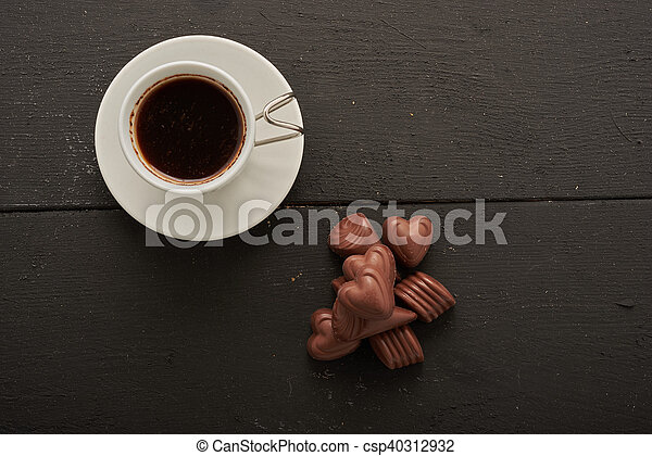 Coffee and sweets top - csp40312932