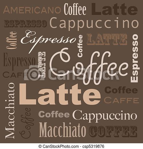 Coffee art - csp5319876