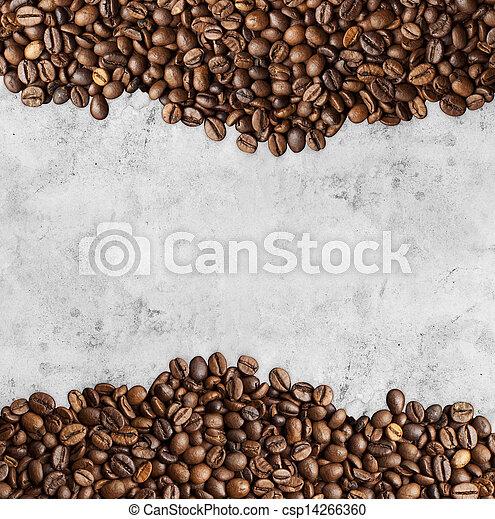 coffee background - csp14266360