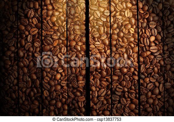 Coffee background - csp13837753