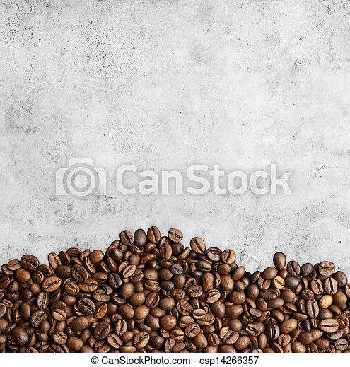 coffee background - csp14266357
