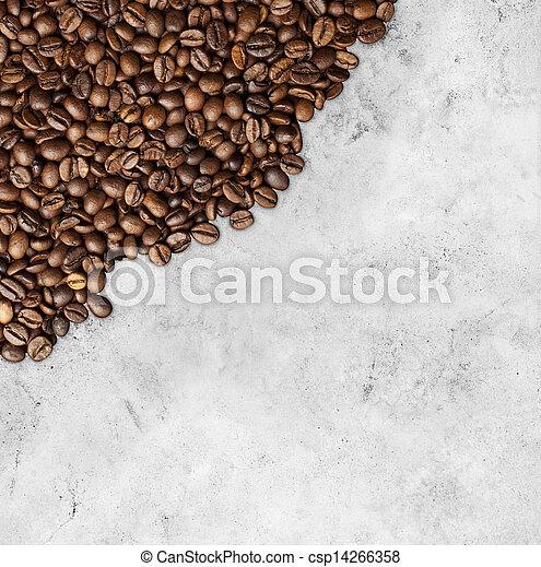 coffee background - csp14266358