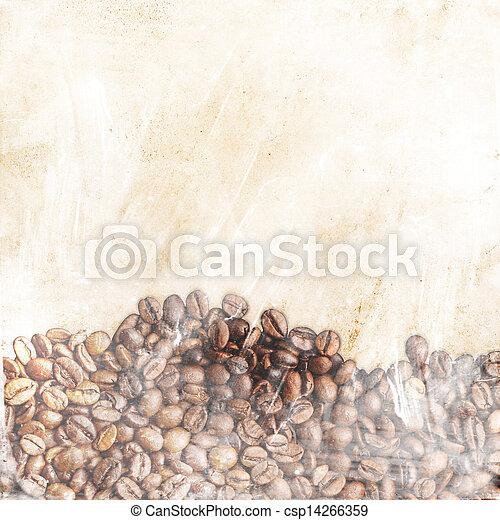 coffee background - csp14266359