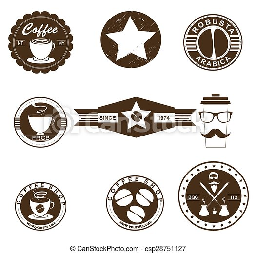 Coffee Badges - csp28751127