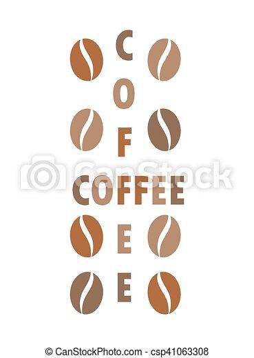 Coffee beans concept - csp41063308