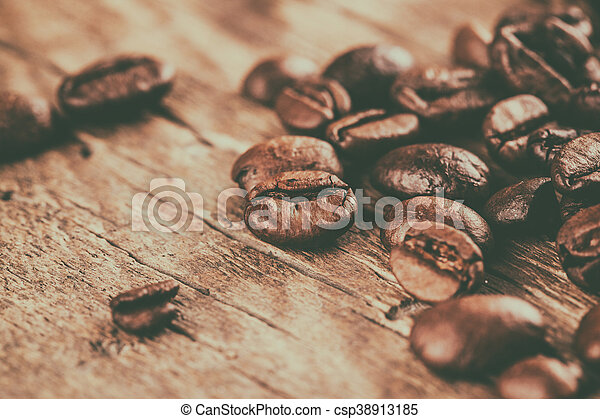 Coffee beans - csp38913185