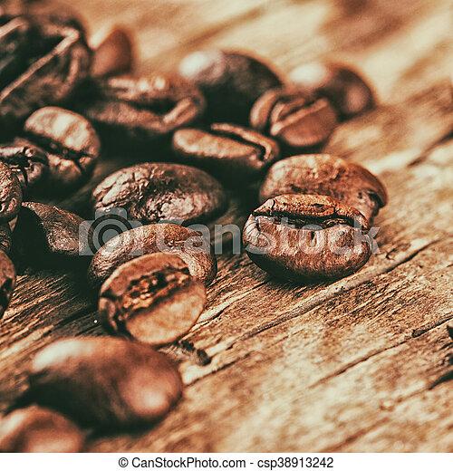 Coffee beans - csp38913242