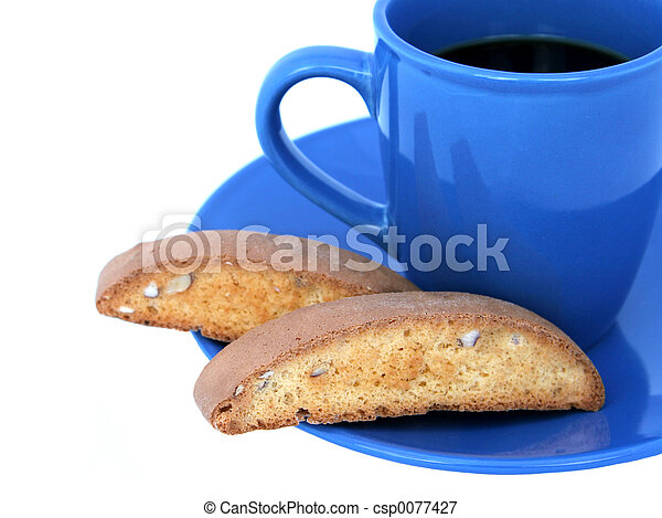 Coffee & Biscotti 2 - csp0077427