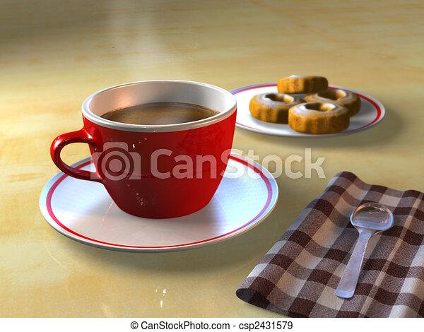 Coffee break - csp2431579