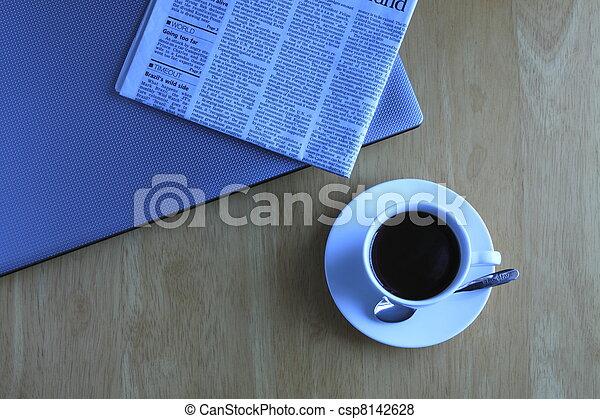 coffee break in Business - csp8142628