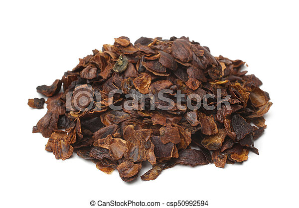 Coffee cherry tea made from the dried skins of dried berries of the coffee plant (cascara) - csp50992594