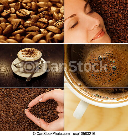 Coffee collage - csp10583216