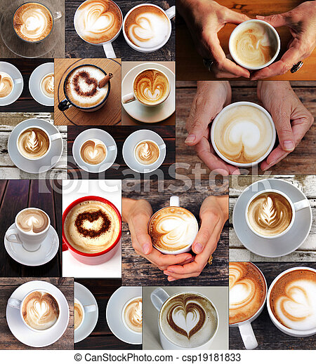 Coffee Collage - csp19181833