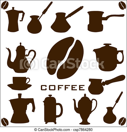 Coffee collection - csp7864280