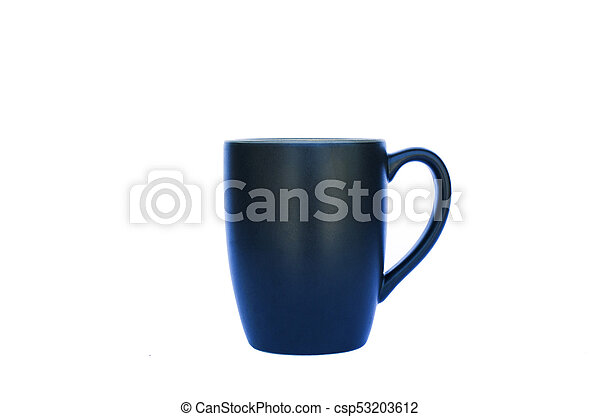 Coffee cup Isolated on white backgrounds - csp53203612