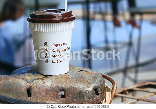 coffee cup - csp42989689