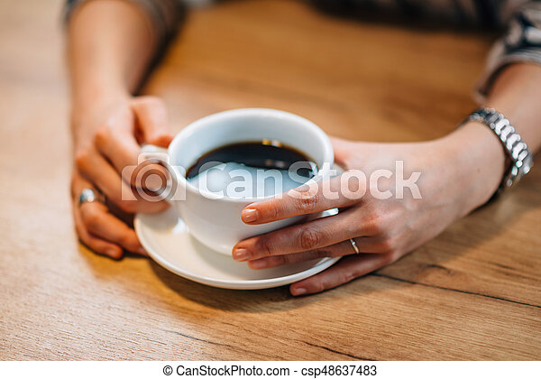 Coffee cup - csp48637483
