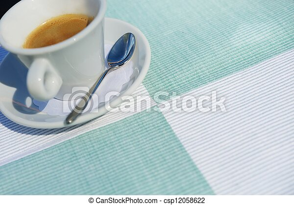 Coffee cup - csp12058622