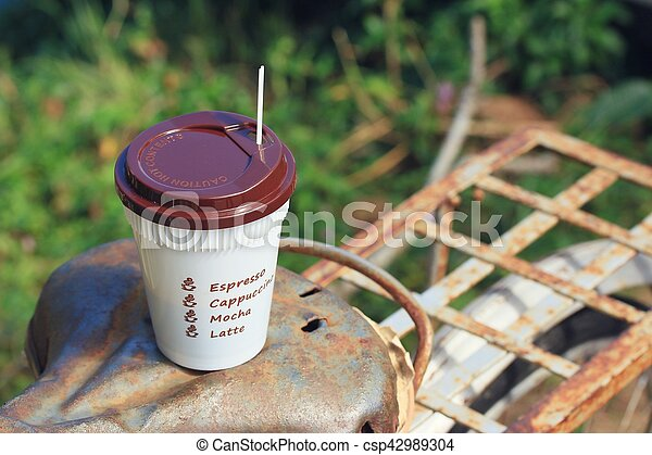 coffee cup - csp42989304
