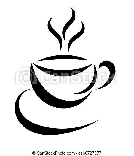 Coffee Cup Symbol Symbolic Coffee Cup Icon Vector Vectors