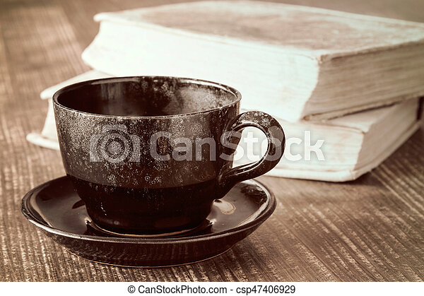 Coffee cup time - csp47406929