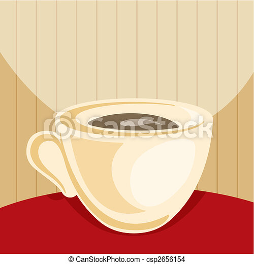 Coffee cup vector - csp2656154