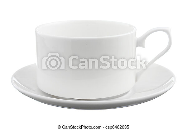 coffee cup with saucer - csp6462635
