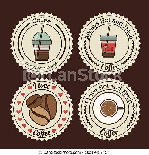 Coffee design - csp19457154